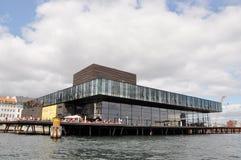 Βασιλικό δραματικό θέατρο, Δανία, Κοπεγχάγη Στοκ Φωτογραφίες