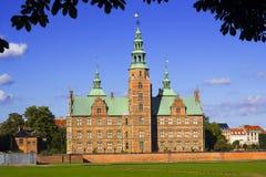Βασιλικό κάστρο Rosenborg Στοκ Εικόνες