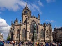 Βασιλικό μίλι, Εδιμβούργο Σκωτία Στοκ εικόνες με δικαίωμα ελεύθερης χρήσης