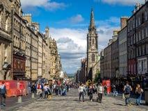 Βασιλικό μίλι, Εδιμβούργο Σκωτία Στοκ φωτογραφία με δικαίωμα ελεύθερης χρήσης