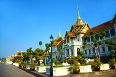 Βασιλικό μεγάλο παλάτι στην Ταϊλάνδη 0393 Στοκ Φωτογραφία