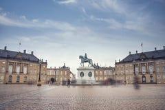 Βασιλικό παλάτι Amalienborg στην Κοπεγχάγη στοκ φωτογραφίες με δικαίωμα ελεύθερης χρήσης