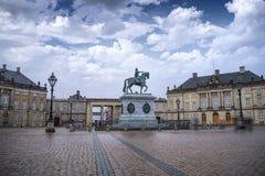 Βασιλικό παλάτι Amalienborg στην Κοπεγχάγη στοκ φωτογραφία με δικαίωμα ελεύθερης χρήσης