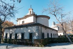 Βασιλικό παρεκκλησι του ST Anthony του Λα Φλώριδα στη Μαδρίτη Στοκ Φωτογραφίες