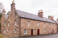 Βασιλικό χωριό Σκωτία Glamis Στοκ φωτογραφία με δικαίωμα ελεύθερης χρήσης