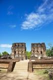 βασιλικό sri καταστροφών polonnaruwa &p Στοκ φωτογραφία με δικαίωμα ελεύθερης χρήσης