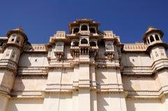 βασιλικό udaipur παλατιών Στοκ εικόνες με δικαίωμα ελεύθερης χρήσης