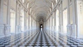 βασιλικό venaria παλατιών της Ιταλίας galleria Di Diana Στοκ Φωτογραφίες
