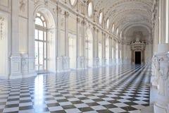 βασιλικό venaria παλατιών της Ιταλίας galleria Di Diana Στοκ Φωτογραφία