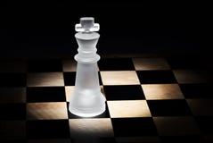 Βασιλιάς σκακιού Στοκ Φωτογραφίες