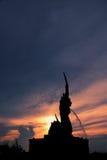 Βασιλιάς της Ταϊλάνδης της έλξης Songkhla τέχνης Nagas Στοκ Εικόνα