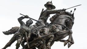 Βασιλιάς του αγάλματος Thonburi Στοκ φωτογραφία με δικαίωμα ελεύθερης χρήσης