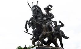 Βασιλιάς του αγάλματος Thonburi Στοκ Εικόνα