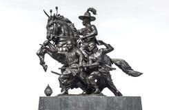Βασιλιάς του αγάλματος Thonburi Στοκ Εικόνες