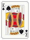 Βασιλιάς των φτυαριών Στοκ Εικόνες