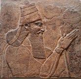 Βασιλιάς Assyrian Στοκ Εικόνα