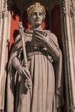 Βασιλιάς Henry VI άγαλμα στο μοναστηριακό ναό της Υόρκης Στοκ φωτογραφία με δικαίωμα ελεύθερης χρήσης