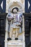Βασιλιάς Henry VIII γλυπτό Στοκ Εικόνα