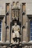 Βασιλιάς Henry VIII στο κολλέγιο Καίμπριτζ τριάδας Στοκ Εικόνα