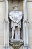 Βασιλιάς Herny VIII άγαλμα Στοκ Φωτογραφία
