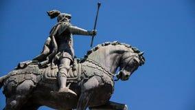 Βασιλιάς João Ι λεπτομέρειες αγαλμάτων Στοκ Εικόνες