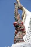 Βασιλιάς Nagas, μαρκίζες του παρεκκλησιού στη λάρνακα στυλοβατών πόλεων, Μπανγκόκ, ταϊλανδικά Στοκ φωτογραφία με δικαίωμα ελεύθερης χρήσης