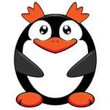 βασιλιάς penguin διανυσματική απεικόνιση