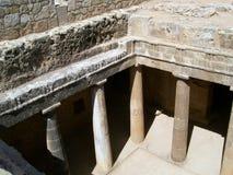 βασιλιάδες τάφων paphos og Στοκ Εικόνα