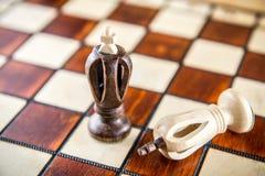 βασιλιάδες δύο σκακιού Στοκ φωτογραφίες με δικαίωμα ελεύθερης χρήσης