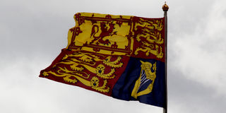 Βασιλικά πρότυπα Στοκ φωτογραφία με δικαίωμα ελεύθερης χρήσης