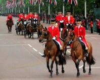 Βασιλικές μεταφορές Λονδίνο στοκ φωτογραφία με δικαίωμα ελεύθερης χρήσης