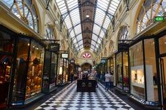 Βασιλικές Arcade - Μελβούρνη Στοκ φωτογραφία με δικαίωμα ελεύθερης χρήσης