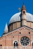 Βασιλική Αγίου Anthony της Πάδοβας στην Πάδοβα, Ιταλία Στοκ εικόνες με δικαίωμα ελεύθερης χρήσης