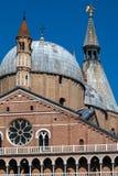 Βασιλική Αγίου Anthony της Πάδοβας στην Πάδοβα, Ιταλία Στοκ εικόνα με δικαίωμα ελεύθερης χρήσης
