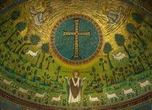 Βασιλική Αγίου Apollinaris σε Classe, Αιμιλία-Ρωμανία, Ιταλία Στοκ Φωτογραφίες