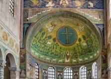 Βασιλική Αγίου Apollinaris σε Classe, Ιταλία Στοκ φωτογραφίες με δικαίωμα ελεύθερης χρήσης