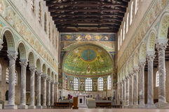 Βασιλική Αγίου Apollinaris σε Classe, Ιταλία Στοκ φωτογραφία με δικαίωμα ελεύθερης χρήσης