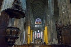 Βασιλική Αγίου Michael στο Μπορντώ, Γαλλία Στοκ Εικόνες