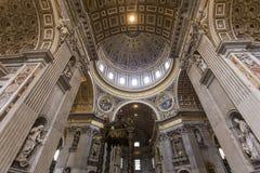 Βασιλική Αγίου Peter, πόλη του Βατικανού, Βατικανό Στοκ εικόνες με δικαίωμα ελεύθερης χρήσης