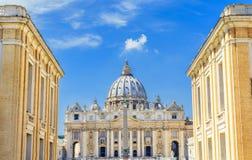 Βασιλική Αγίου Peter s σε Βατικανό, Ρώμη στοκ εικόνες με δικαίωμα ελεύθερης χρήσης