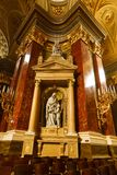Βασιλική Αγίου Stephen εσωτερική Στοκ φωτογραφία με δικαίωμα ελεύθερης χρήσης