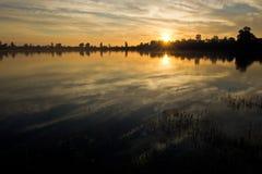 Βασιλική ανατολή λουτρών Στοκ Φωτογραφίες