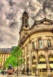 Βασιλική ανταλλαγή, ένα ιστορικό κτήριο στο Λονδίνο στοκ εικόνες με δικαίωμα ελεύθερης χρήσης