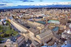Βασιλική Βατικανό Ρώμη Ιταλία Αγίου Peter ` s παρεκκλησιών Sistine μουσείων Στοκ φωτογραφίες με δικαίωμα ελεύθερης χρήσης
