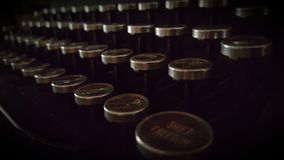 Βασιλική γραφομηχανή Στοκ φωτογραφία με δικαίωμα ελεύθερης χρήσης