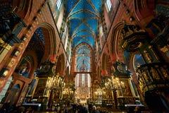 βασιλική εσωτερική Mary s ST στοκ φωτογραφία