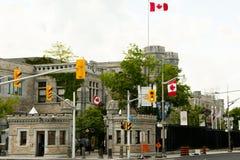 Βασιλική καναδική μέντα - Οττάβα στοκ εικόνα