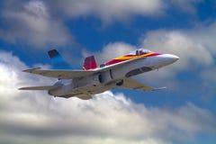 Βασιλική καναδική Πολεμική Αεροπορία βλ.-18 Hornet Στοκ φωτογραφίες με δικαίωμα ελεύθερης χρήσης