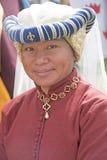 Βασιλική κυρία στην περίοδο Jacobite στοκ εικόνα