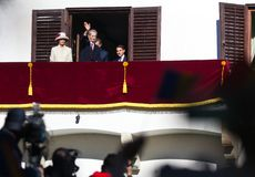 Βασιλική οικογένεια της Ρουμανίας στοκ φωτογραφία